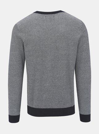 Šedý vzorovaný sveter Jack & Jones Neil
