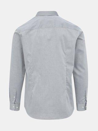 Šedá slim fit košeľa Jack & Jones Non Iron