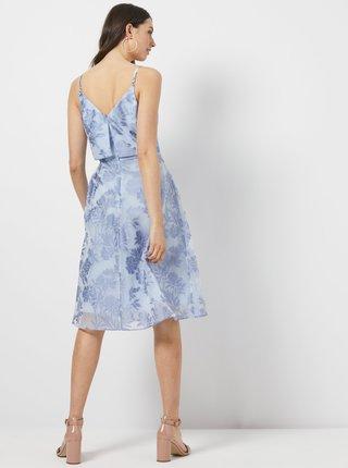 Světle modré květované šaty Dorothy Perkins