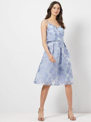Svetlomodré kvetované šaty Dorothy Perkins