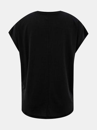 Čierne basic tričko ONLY Free Life