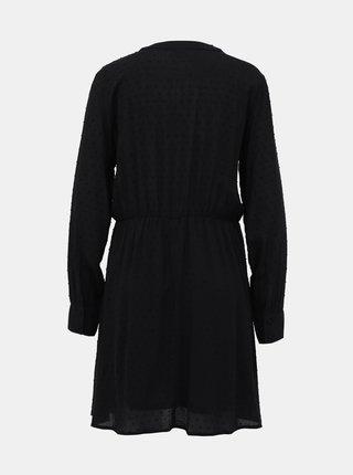 Černé vzorované šaty Jacqueline de Yong Riise