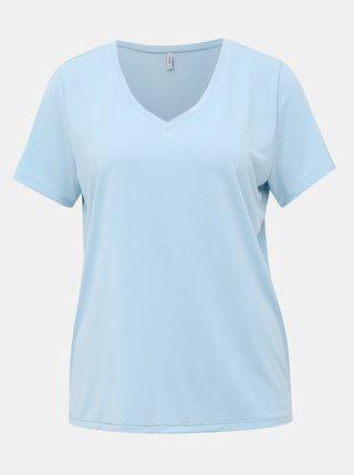 Svetlomodré basic tričko ONLY Free Life
