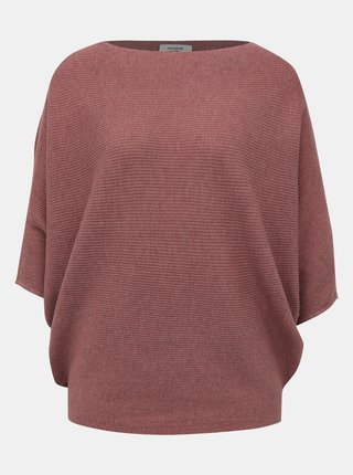 Starorůžový svetr s netopýřími rukávy Jacqueline de Yong New Behave