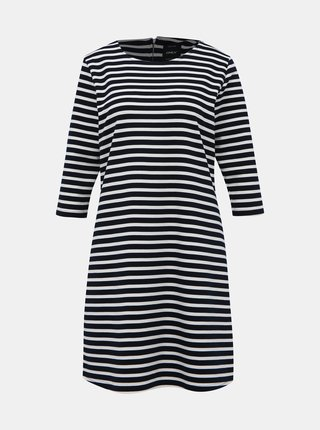 Bílo-modré pruhované šaty ONLY Brilliant
