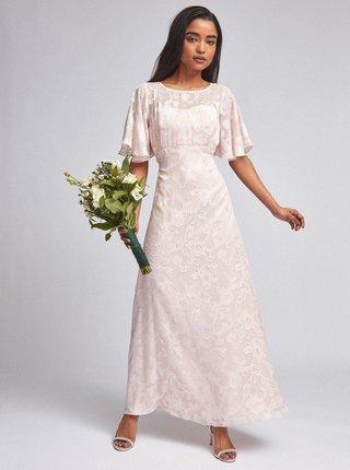 Ružové kvetované maxišaty Dorothy Perkins