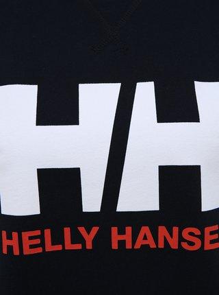 Tmavě modrá dámská mikina s potiskem HELLY HANSEN Logo