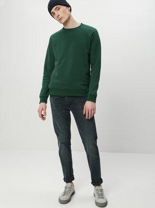 Tmavě zelená pánská basic mikina ZOOT Derek