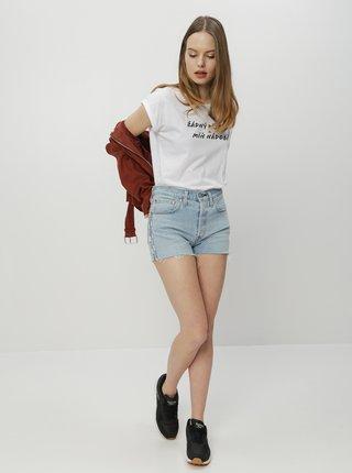 Bílé dámské tričko ZOOT Original Žádný přítel
