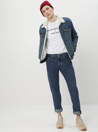Modré pánské straight fit džíny Levi's 501