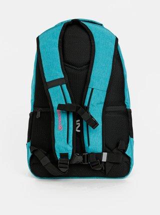 Tyrkysový dámsky batoh s peračníkom 2v1 Meatfly 22 l