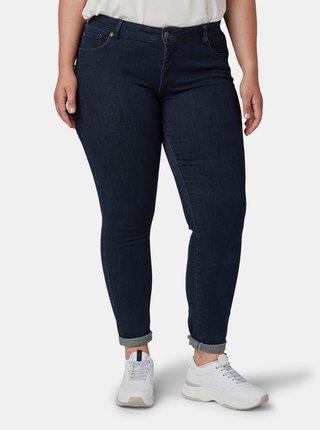 Tmavě modré dámské skinny fit džíny My True Me Tom Tailor