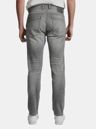 Světle šedé pánské slim fit džíny Tom Tailor Josh