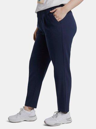 Tmavě modré dámské kalhoty My True Me Tom Tailor