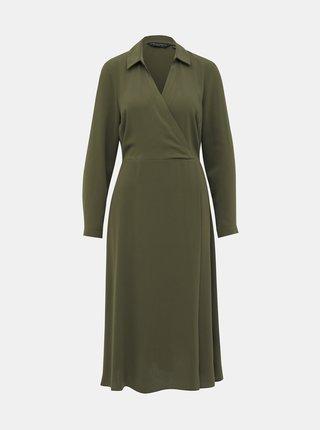 Khaki šaty Dorothy Perkins