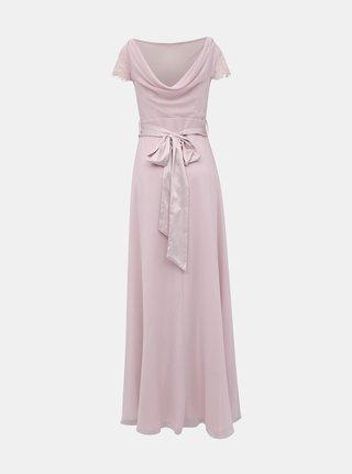 Světle růžové maxi šaty Dorothy Perkins Tall
