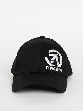 Čierna šiltovka s výšivkou Meatfly Sigma