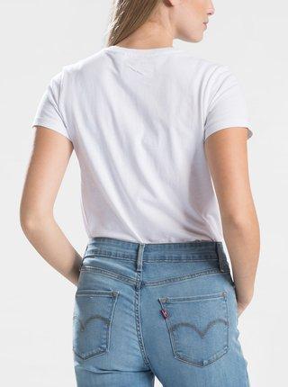 Bílé dámské basic tričko s nášivkou Levi's®