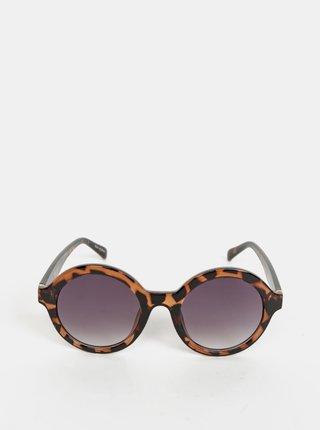 Hnědé sluneční brýle VERO MODA Alma