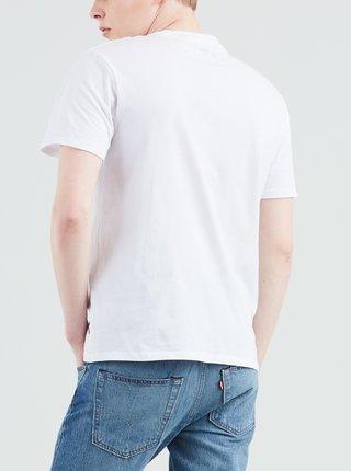 Biele pánske tričko s potlačou Levi's®