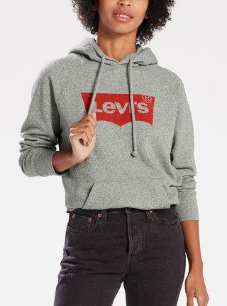 Sivá dámska melírovaná mikina Levi's®