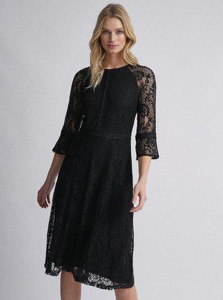 Čierne krajkové šaty Dorothy Perkins Tall