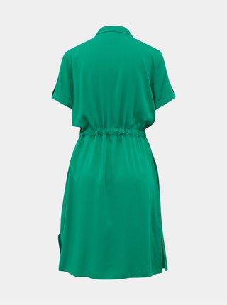Zelené košeľové šaty ZOOT Nere
