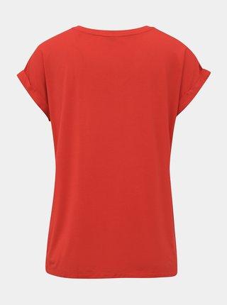 Červené dámské basic tričko ZOOT Baseline Adriana