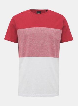 Bielo-červené pánske tričko ZOOT James