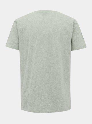 Světle šedé pánské basic tričko ZOOT Brandon