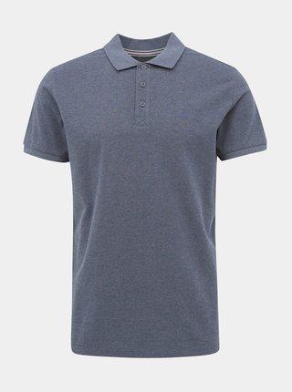 Modré pánské basic polo tričko ZOOT Lionel