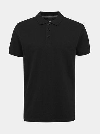 Černé pánské basic polo tričko ZOOT Lionel