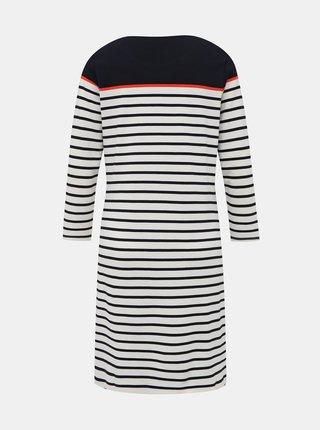 Modro-bílé pruhované šaty M&Co