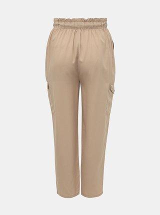 Béžové kalhoty ONLY CARMAKOMA Stello