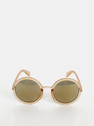 Béžové slnečné okuliare VILA Susan