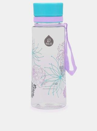 Plastová fľaša s motívom kvetov EQUA (600 ml)