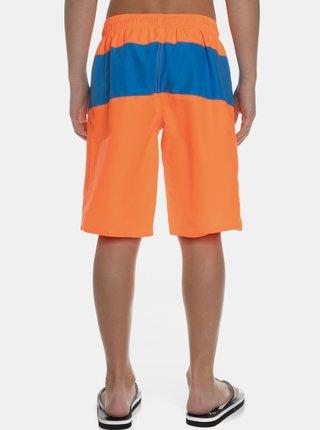 Neonovo oranžové chlapčenské plavky SAM 73
