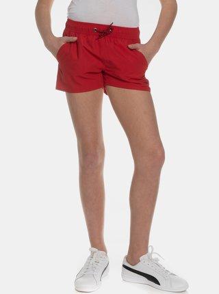 Červené dievčenské kraťasy SAM 73