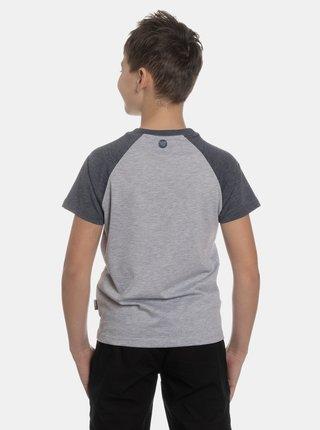 Šedé klučičí tričko s potiskem SAM 73