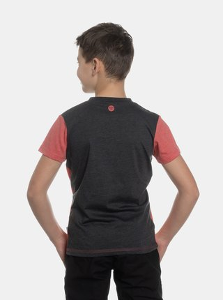 Červené chlapčenské tričko s potiskem SAM 73
