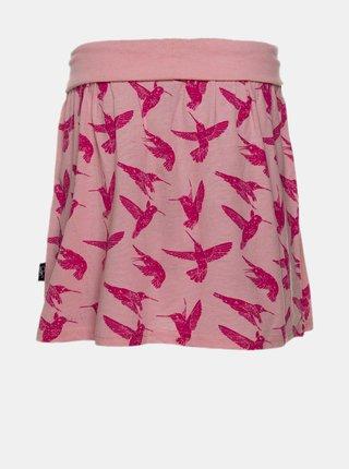 Růžová holčičí vzorovaná sukně SAM 73