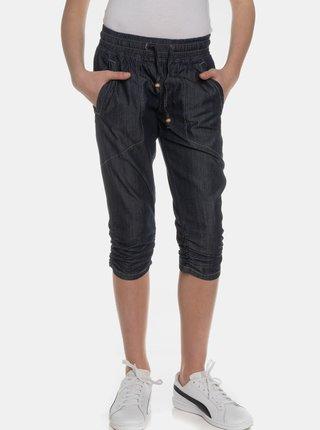 Tmavomodré dievčenské 3/4 nohavice SAM 73
