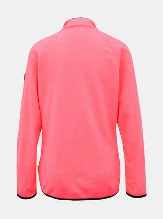 Neonovo rúžová dámska mikina SAM 73
