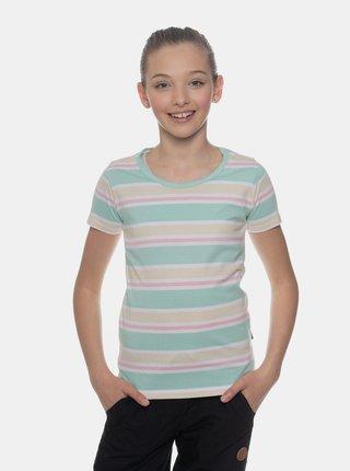 Světle zelené holčičí pruhované tričko SAM 73