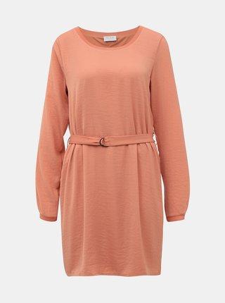 Růžové šaty Vila