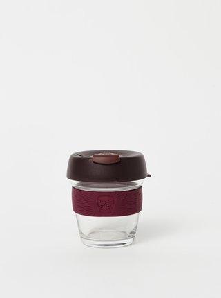 Vínový sklenený cestovný hrnček KeepCup Brew small 177 ml