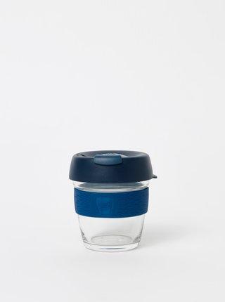 Tmavomodrý sklenený cestovný hrnček KeepCup Brew small 177 ml