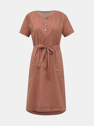Tehlové vzorované šaty killtec Ebba
