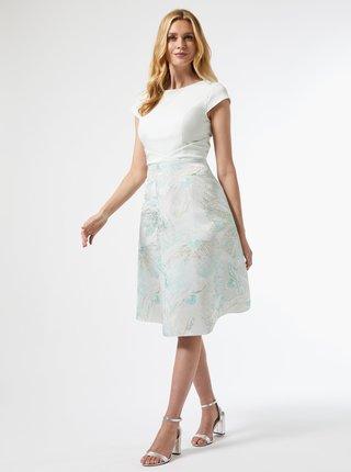 Světle zelené květované šaty Dorothy Perkins