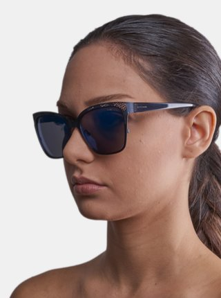Tmavomodré dámske slnečné okuliare Guess by Marciano